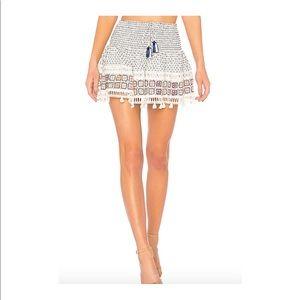 Ripple Short Skirt by HEMANT AND NANDITA